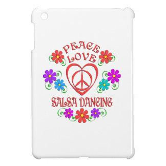 Peace Love Salsa Dancing iPad Mini Cover