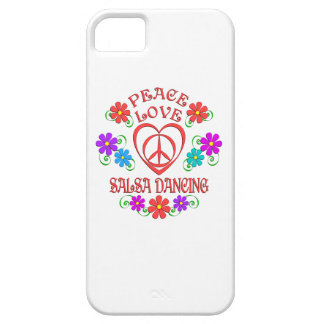 Peace Love Salsa Dancing iPhone 5 Case