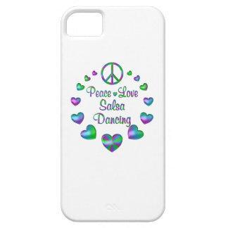 Peace Love Salsa Dancing iPhone 5 Cover