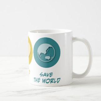 Peace Love Save the World Mug