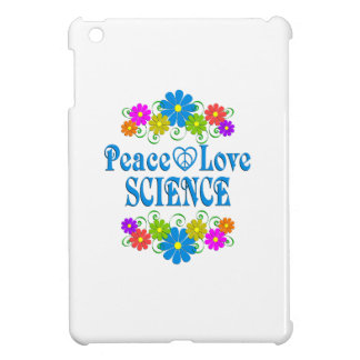 Peace Love Science Cover For The iPad Mini