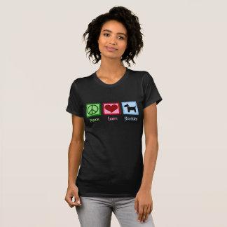 Peace Love Scottish Terrier T-Shirt