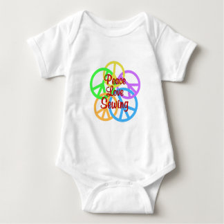 Peace Love Sewing Baby Bodysuit