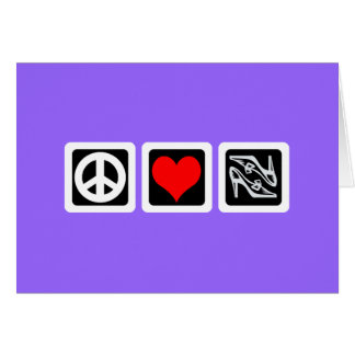 Peace love shoes cards