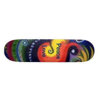 Peace & Love Skateboard