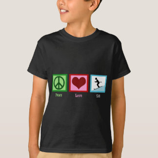 Peace Love Ski T-Shirt