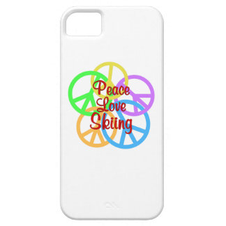Peace Love Skiing Case For The iPhone 5