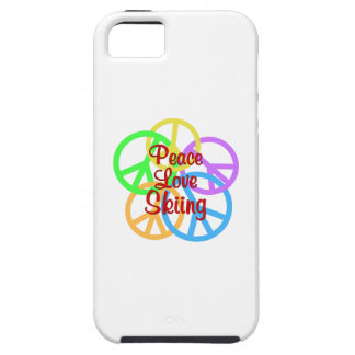 Peace Love Skiing iPhone 5 Case