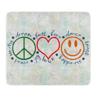 Peace Love Smile Boards