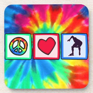 Peace, Love, Speed Skating Coaster