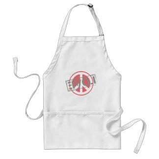Peace Love Standard Apron