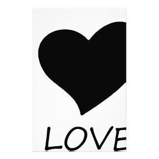peace love stationery