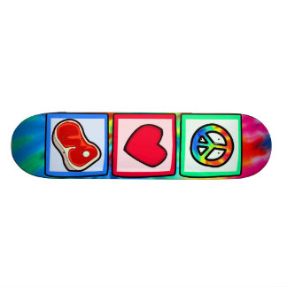 Peace, Love, Steaks Skateboard Decks