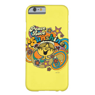 Peace Love Sunshine Barely There iPhone 6 Case