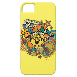 Peace Love Sunshine iPhone 5 Case