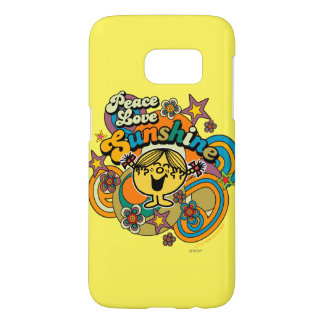 Peace Love Sunshine Samsung Galaxy S7 Case