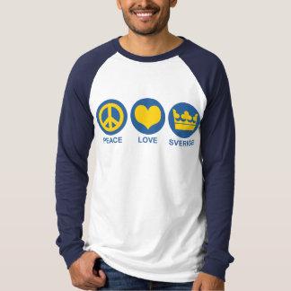 Peace Love Sverige T-Shirt