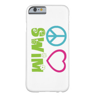 Peace Love Swim Barely There iPhone 6 Case