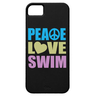 Peace Love Swim iPhone 5 Case