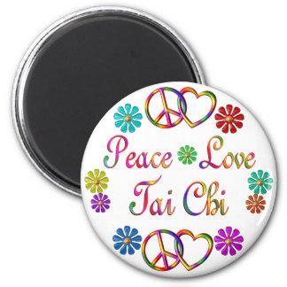 Peace Love Tai Chi Magnet