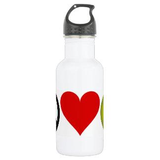 Peace Love Tennis 532 Ml Water Bottle