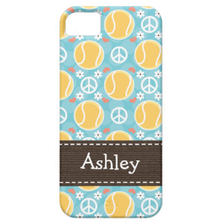 Peace Love Tennis iPhone 5 Cases