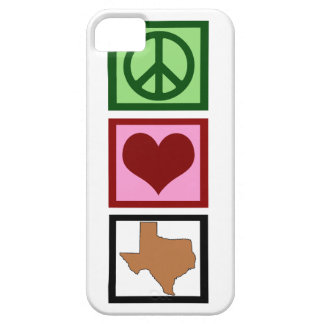 Peace Love Texas iPhone 5 Case