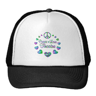 Peace Love Theatre Trucker Hat