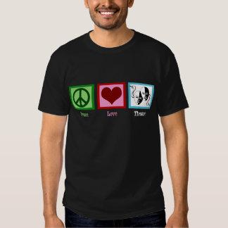 Peace Love Theatre Tshirt