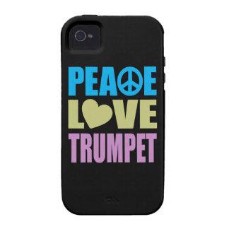 Peace Love Trumpet iPhone 4/4S Case