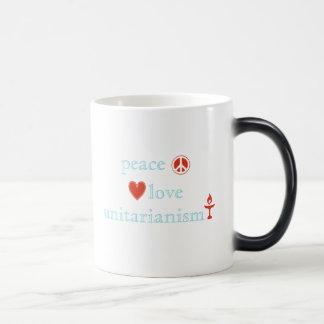 Peace Love Unitarianism Coffee Mug