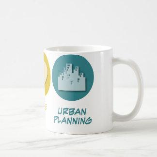Peace Love Urban Planning Basic White Mug