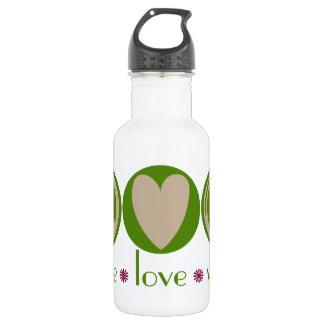 Peace Love Vegan 532 Ml Water Bottle