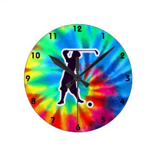Peace, Love, Vintage Golf Wall Clocks