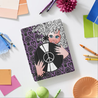Peace, Love & Vinyl iPad Cover