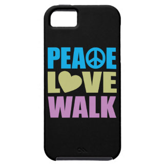 Peace Love Walk iPhone 5 Cover