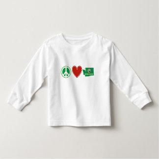Peace Love Washington Toddler T-shirt