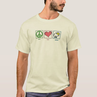 Peace, Love, Weather T-Shirt