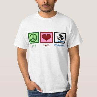 Peace Love Windsurfing T-Shirt