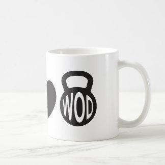 "Peace, Love, & WOD"" Mug"
