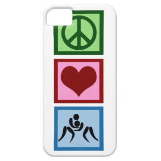 Peace Love Wrestling Case For The iPhone 5
