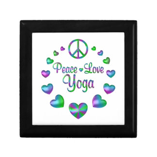 Peace Love Yoga Gift Box
