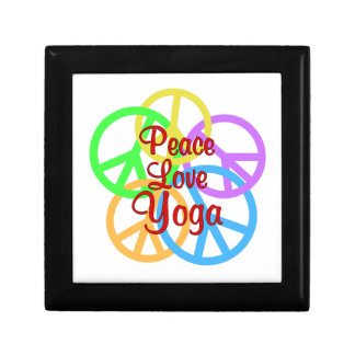 Peace Love Yoga Gift Box