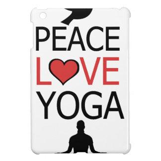 Peace Love & Yoga iPad Mini Covers