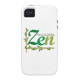 Peace Love Zen Case-Mate iPhone 4 Case