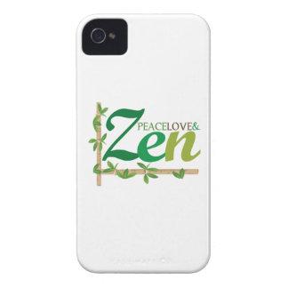 Peace Love Zen Case-Mate iPhone 4 Cases