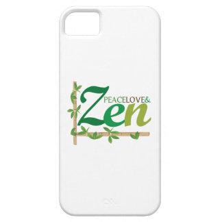 Peace Love Zen iPhone 5/5S Covers