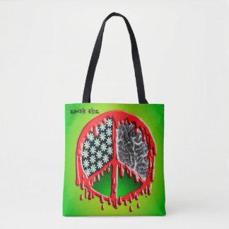 Peace Love Zombiez Tote Bag