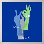 Peace Luck OK Print