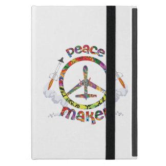 Peace Maker, hippie military drone funny Case For iPad Mini